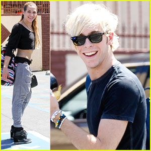Riker Lynch Hits The Dance Studio After 'R5 All Day All Night' Screening