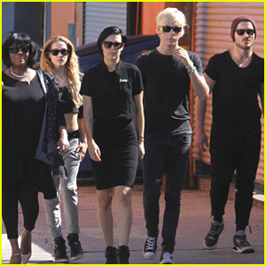 Riker Lynch & Rumer Willis Put The Trouble In 'Team Trouble' For 'DWTS'