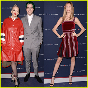 Rita Ora & Boyfriend Ricky Hilfiger Look Perfect Together at Tommy Hilfiger Opening