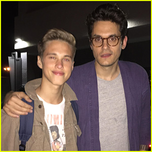 Ryan Beatty Meets His Idol John Mayer!