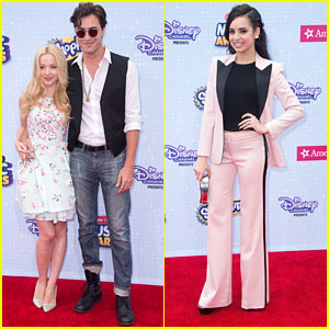 Dove Cameron & Sofia Carson 'Descend' To The Radio Disney Music Awards 2015