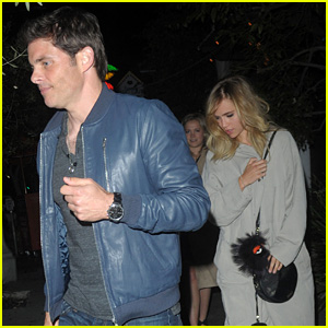Suki Waterhouse Grabs Dinner With James Marsden in Los Angeles