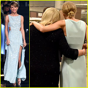 Taylor Swift Shares Sweet ACM Backstage Moment with Mom!