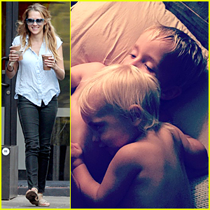 Teresa Palmer's Sons Share Sweet Moment Before Bed Time