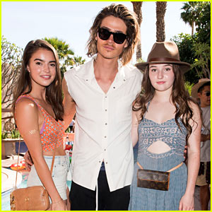 Kaitlyn Dever Has a 'MWC' Reunion at Just Jared's Festival Party Presented by Sonix!