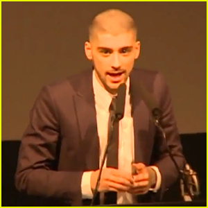 Zayn Malik Mentions One Direction During Asian Awards A