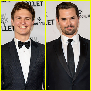 Ansel Elgort Brings His Good Looks to the New York City Ballet Spring Gala 2015!