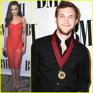 Cher Lloyd Runs Into Niall Horan at BMI Awards in Los Angeles