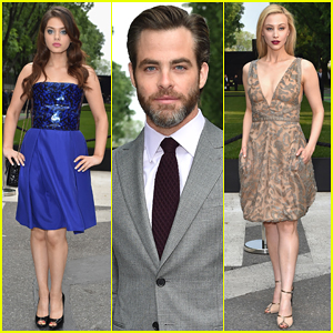 Chris Pine Joins Odeya Rush & Sarah Gadon In Italy for Giorgio Armani!