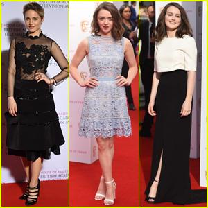 Dianna Agron Attends the BAFTA TV Awards 2015 Alongside Maisie Williams