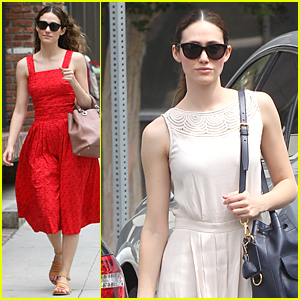 Emmy Rossum Looks Amazing in $15 Dress
