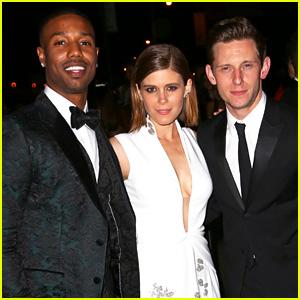 Michael B. Jordan & 'Fantastic Four' Cast Hits the Met Gala Parties Together!