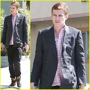 Hayden Christensen Shows Serious Style in Studio City