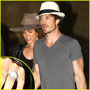 See Ian Somerhalder & Nikki Reed's Wedding Rings!