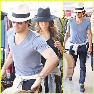 Ian Somerhalder Posts Lovely Birthday Message For Nikki Reed!