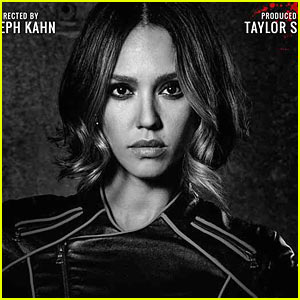 Jessica Alba Plays Domino in Taylor Swift's 'Bad Blood' Music Video