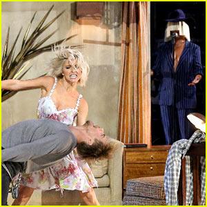 Derek Hough Joins Julianne for Sia Dance on 'DWTS' Finale (Video)