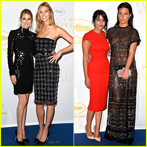 Karlie Kloss & Adele Exarchopoulos Doll Up For Cannes 2015 Opening Ceremony Dinner