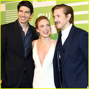 Caity Lotz & Brandon Routh Bring The 'Legends of Tomorrow' To CW Upfronts