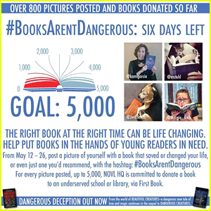 Authors Kami Garcia & Margaret Stohl Launch #BooksArentDangerous Initiative - Learn About It Here!