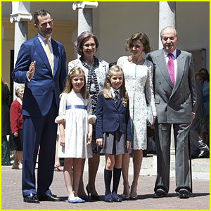 Princess Leonor Of Spain Breaks Tradition For First Communion