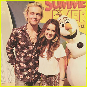 Ross Lynch & Laura Marano Kick Off The 'Coolest Summer Ever' At Walt Disney World