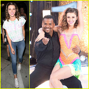 Sadie Robertson Celebrates 'Dancing With The Stars' Season Finale After Performance With Alfonso Ribeiro