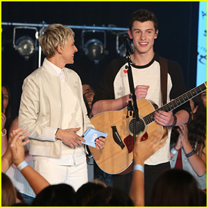 Shawn Mendes Surprises a Fan on 'Ellen' (Video)