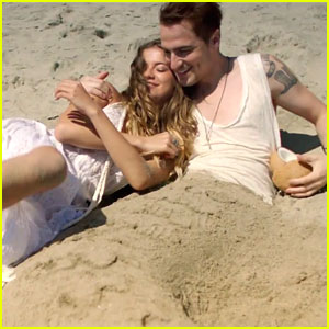 Sofia Reyes & Kendall Schmidt Get Shipwrecked In 'Conmigo (Rest Of Your Life)' Music Video - Watch Now!