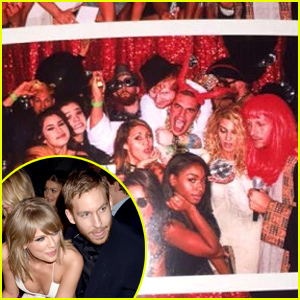 Taylor Swift & Calvin Harris Share Possible Kiss at Her Billboard Music Awards After Party!
