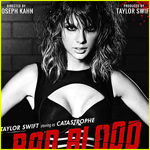 Taylor Swift Teases Karlie Kloss Fight in New 'Bad Blood' Poster