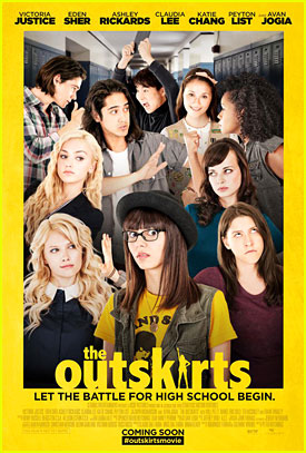 Victoria Justice Debuts 'The Outskirts' Movie Poster & Release Date