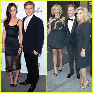 William Moseley & Savannah Chrisley Head To NBC Universal Upfronts in NYC