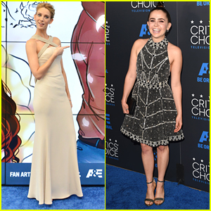 Mae Whitman & Yael Grobglas Hit Up Critics' Choice Television Awards 2015