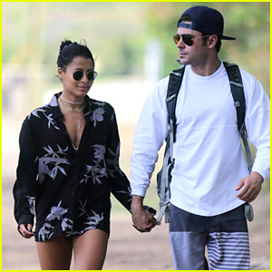 Zac Efron Holds Hands with Sami Miro in Hawaii
