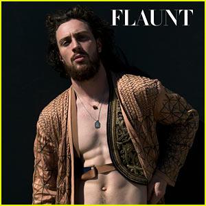 Avengers' Aaron Taylor-Johnson 'Flaunts' His Body in New Magazine Spread!