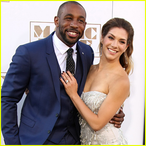 Allison Holker Supports Husband Stephen 'tWitch' Boss At 'Magic Mike XXL' Premiere