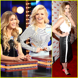 See New Pics Of Allison Holker & Witney Carson on 'Celebrity Family Feud'!