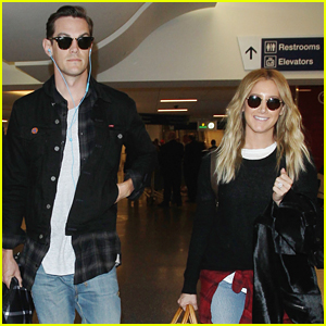 Ashley Tisdale Returns To LA Just Before 'Clipped' Premiere