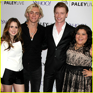 OMG! Ally Almost Had a Brother & More 'Austin & Ally' Set Secrets Revealed - Watch Now!