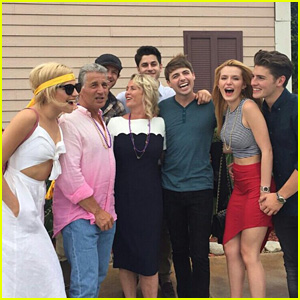 Bella Thorne & Gregg Sulkin Couple Up for His Mom's Birthday!