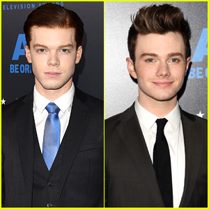 Cameron Monaghan & Chris Colfer Suit Up for Critics' Choice Television Awards 2015