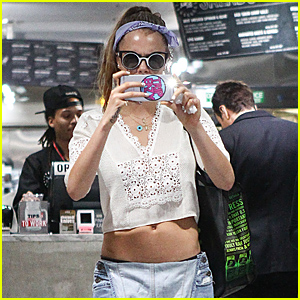 Cara Delevingne Photographs The Paparazzi