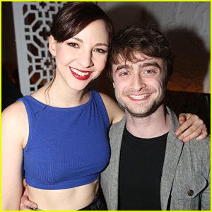 Daniel Radcliffe Supports Girlfriend Erin Darke at 'The Spoils' Opening Night