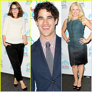 Darren Criss Represents Voices For The Voiceless with Tina Fey!