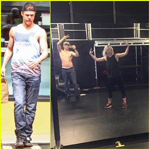 Derek Hough Preps for 'Move On Live Tour' With Sister Julianne