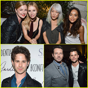 Emily VanCamp & 'Revenge' Cast Live It Up at Le Jardin Grand Opening!