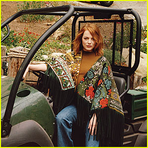 Emma Stone Looks Prettier Than Ever In 'WSJ Magazine'