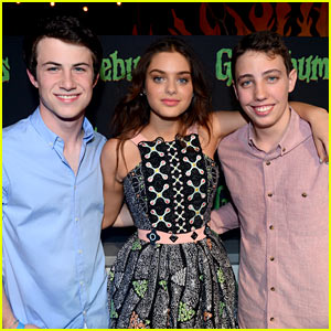 Odeya Rush & Dylan Minnette Bring 'Goosebumps' to Cancun!