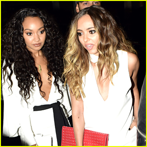 Jade Thirlwall & Leigh-Anne Pinnock Celebrate Summertime Ball Performance With Girl's Night Out